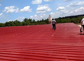 Commercial Metal Roof Repair in VA