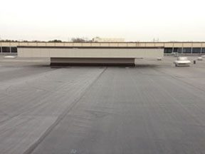 Commerical flat roofing