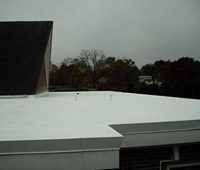 Single-ply roofing repair